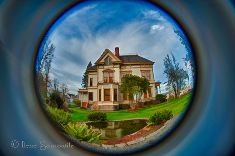 Flavel House Museum, Astoria, Oregon