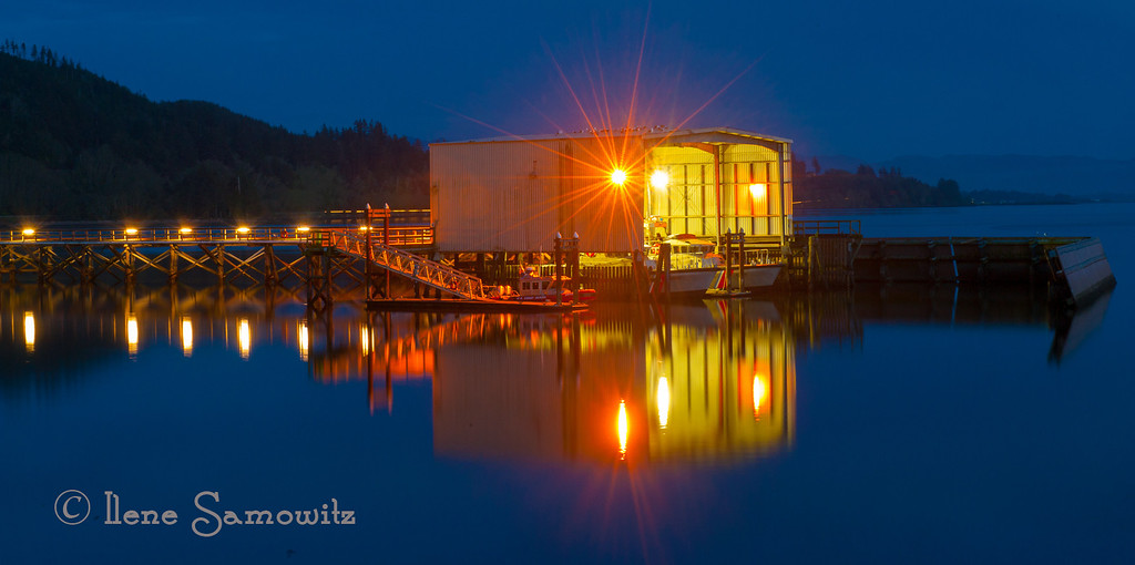 Reflections at the Port of Garibaldi<br /> Garibaldi, Oregon Coast