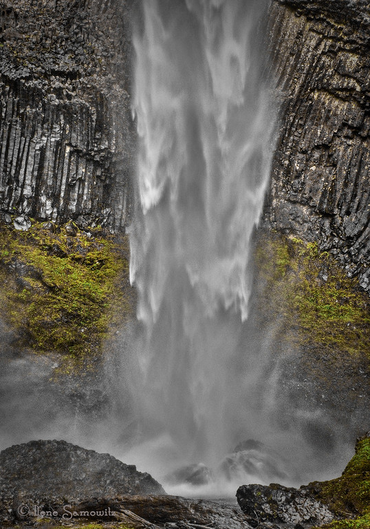 11-25-12 Columbia Gorge Waterfall, OR<br /> <br /> Critiques Welcome