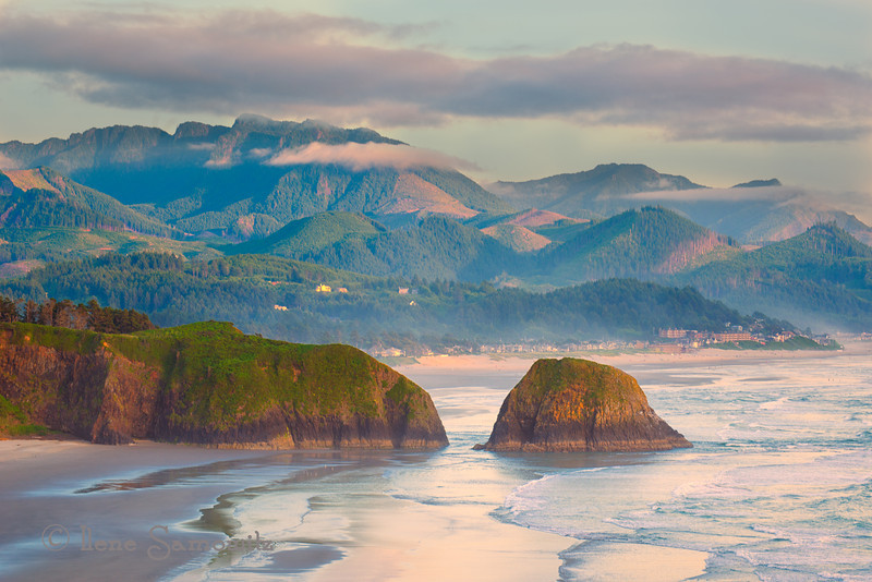 7-9-12 Evening Light at Ecola State Park - Another scene from this glorious evening.