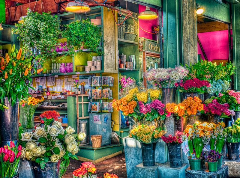 The Flower Store at Pike Place Market<br /> Seattle, WA