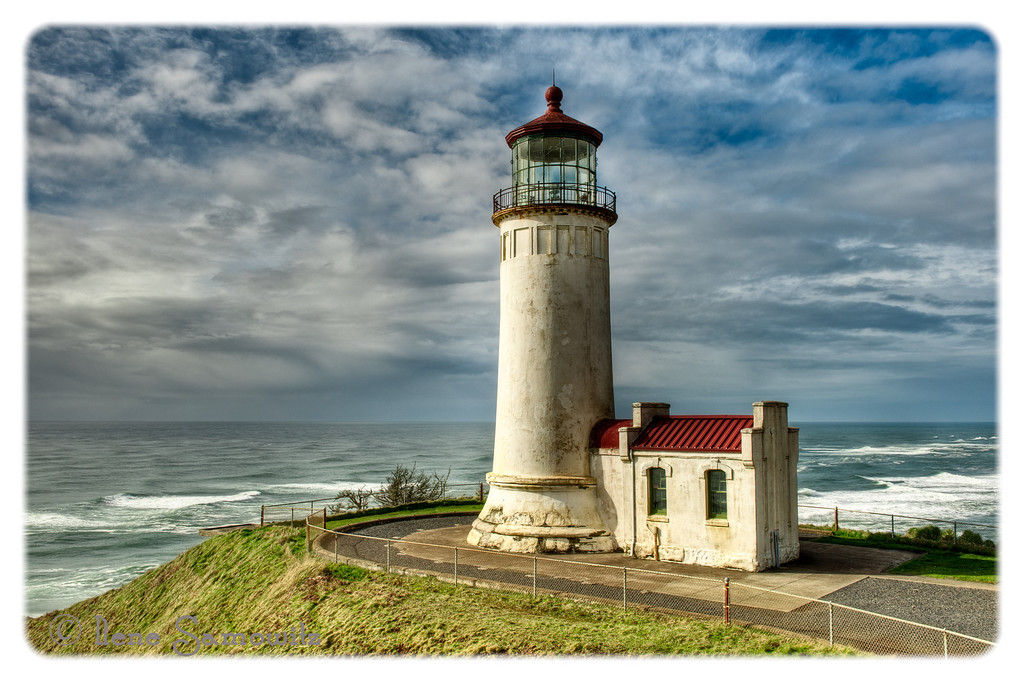 North Head Lighthouse<br /> Cape Disappointment State Park, Washington