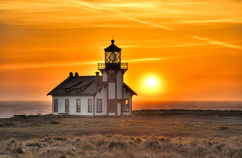 Point Cabrillio Lighthouse, Mendocino, California<br /> This is one of the first processed images uploaded from my California and Oregon coast trip that was not taken with my iphone.  This is a nine image HDR processed in Photomatix and Nik filters.
