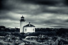 Another shot of my favorite lighthouse to photograph on the Oregon Coast.  This is a single exposure (not long) that was converted using Silver Effex 2 and Additional filters like cross processing in Color Effex.