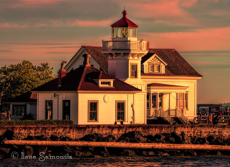 6-22-13 Mukilteo Lighthouse taken from the ferry.
