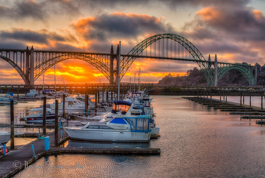 3-10-13 Yaquina Bay Bridge in Newport, Oregon