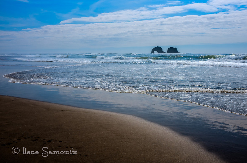 8-21-13 Another Oregon coast beach....Rockaway Beach on the north coast.