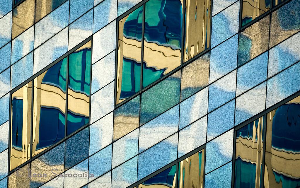 6-12-13 Skyscraper Reflection