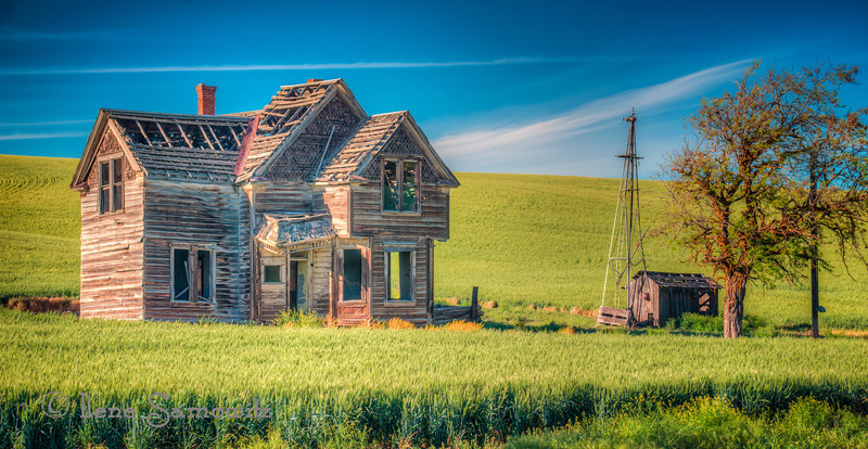 3-1-13 Abandoned House near Dufur, Oregon