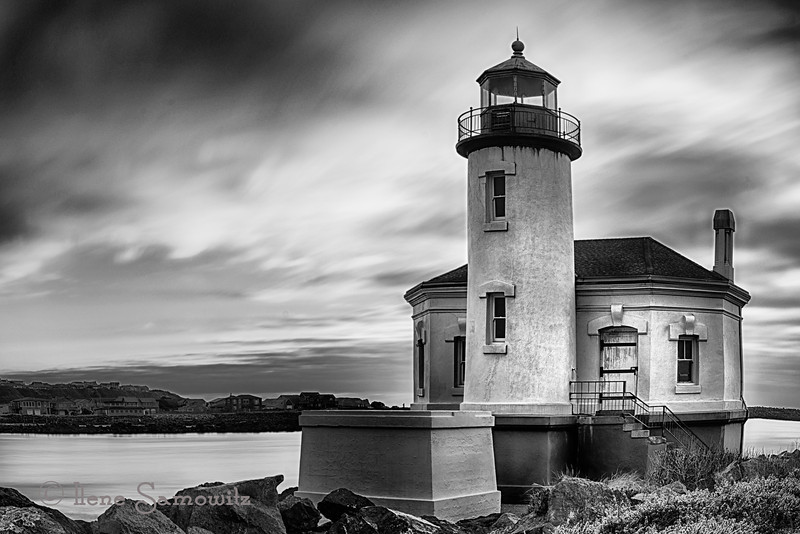 1-14-13 Coquille lighthouse long exposure.<br /> <br /> Critiques Welcome.