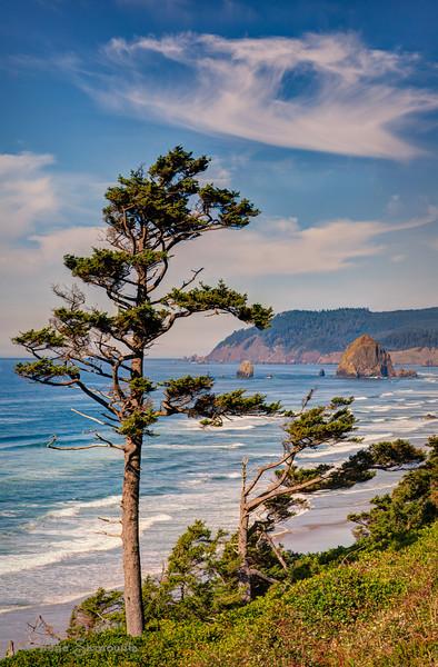 12-6-13 Oregon coast clouds