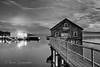 3-15-13 Fishing Pier in Garibaldi, Oregon.  This is a 30 sec expsure