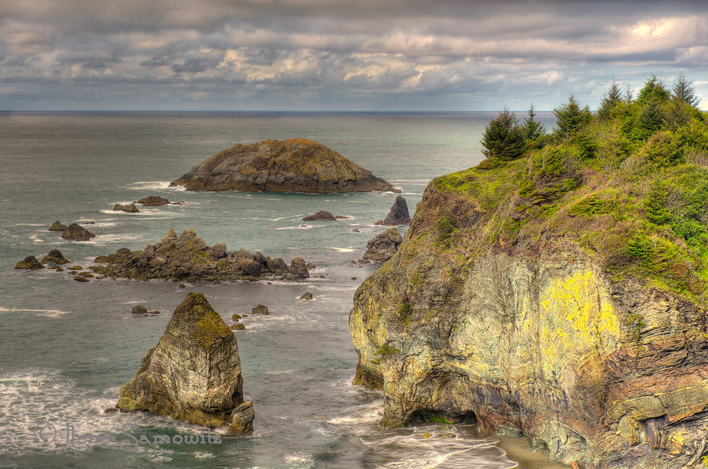 6-27-13 Rainbow Rock, Brookings, Oregon