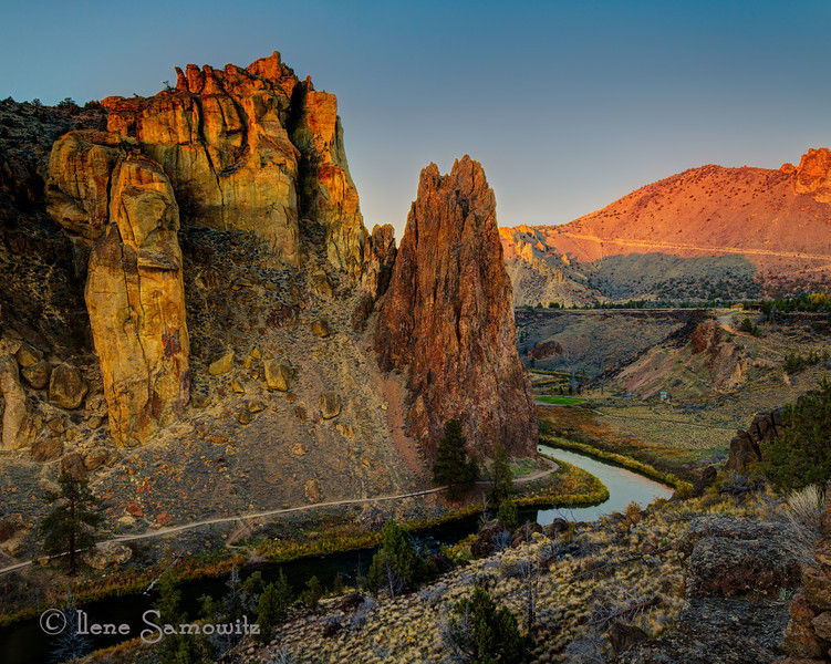 11-8-13 Evening Golden Hour at Smith Rock State Park,  Terrebonne, Oregon<br /> <br /> Another image from the workshop.