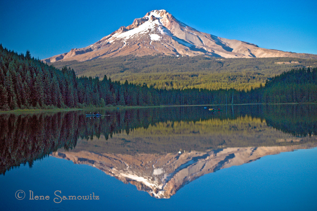 10-16-13 Mt Hood Reflection, Trillium Lake, Oregon