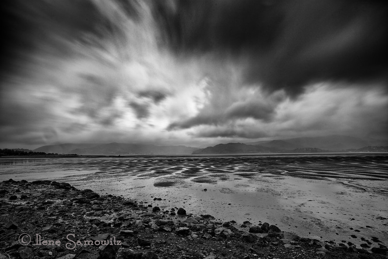 """4-7-13 Tillamook Bay, Oregon.  This was taken at the same time as the image I posted yesterday.  I used my Lee Big Stopper for 10 stops of ND compared to 13 stops.  I am taking a long exposure class where I am earning to vary the exposures.  I think I like the 30 sec exposure better than the 357 sec exposure  <a href=""""http://www.ilenesamowitz.com/Photo-A-Day/PAD2013/i-ckkRpZ8/0/M/20130406-_IS04253-M.jpg"""">http://www.ilenesamowitz.com/Photo-A-Day/PAD2013/i-ckkRpZ8/0/M/20130406-_IS04253-M.jpg</a> .....what do you think?"""