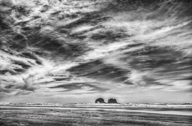 2-12-13 Rockaway Beach Sky