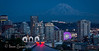 7-2-13 This was taken the other night at 195 mm to emphasize the mountain and the Ferris wheel.