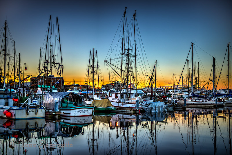 Fisherman's Terminal Sunset