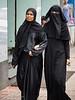 Muslim women in Bangalore.