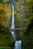 1-2-14 Multnomah Falls along the Columbia Gorge, Oregon.