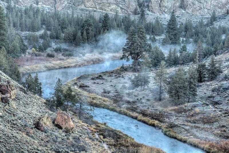 Smith Rock Mist, Oregon