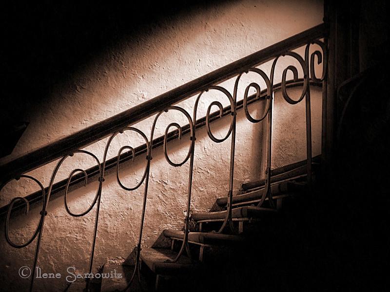 Repeating Patterns<br /> <br /> Stairway in Ooty