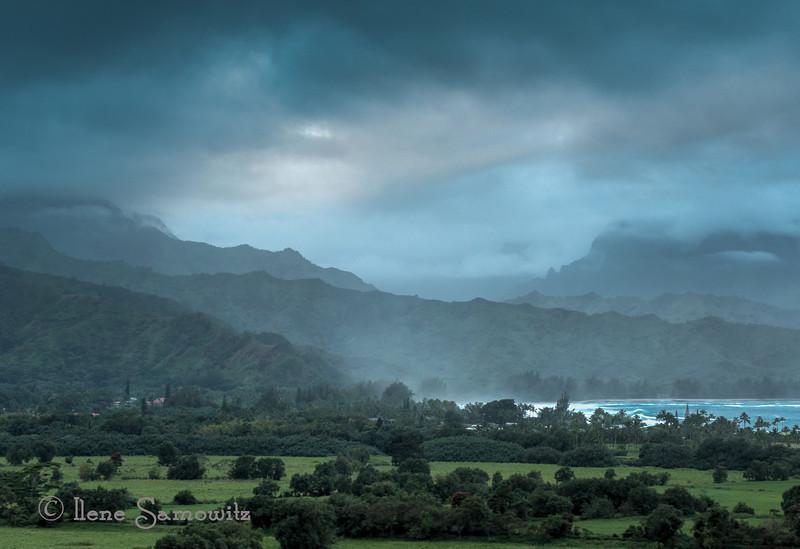 Beautiful Kauai Landscape.