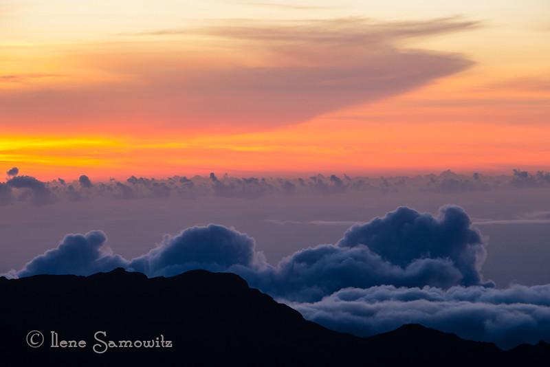 Maui Sunrise at 10000 Feet