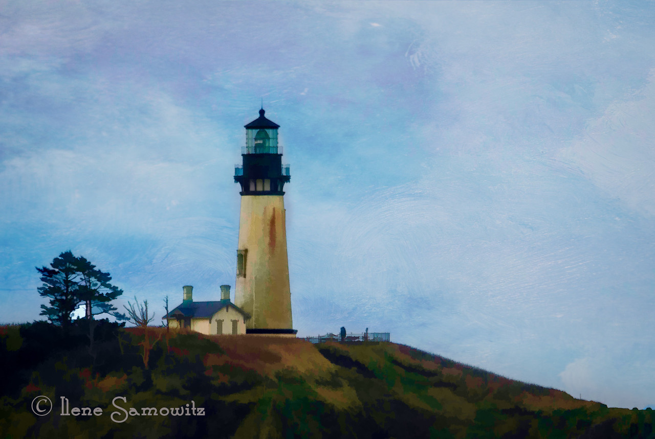 Yaquina Head Dreams processed with Topaz