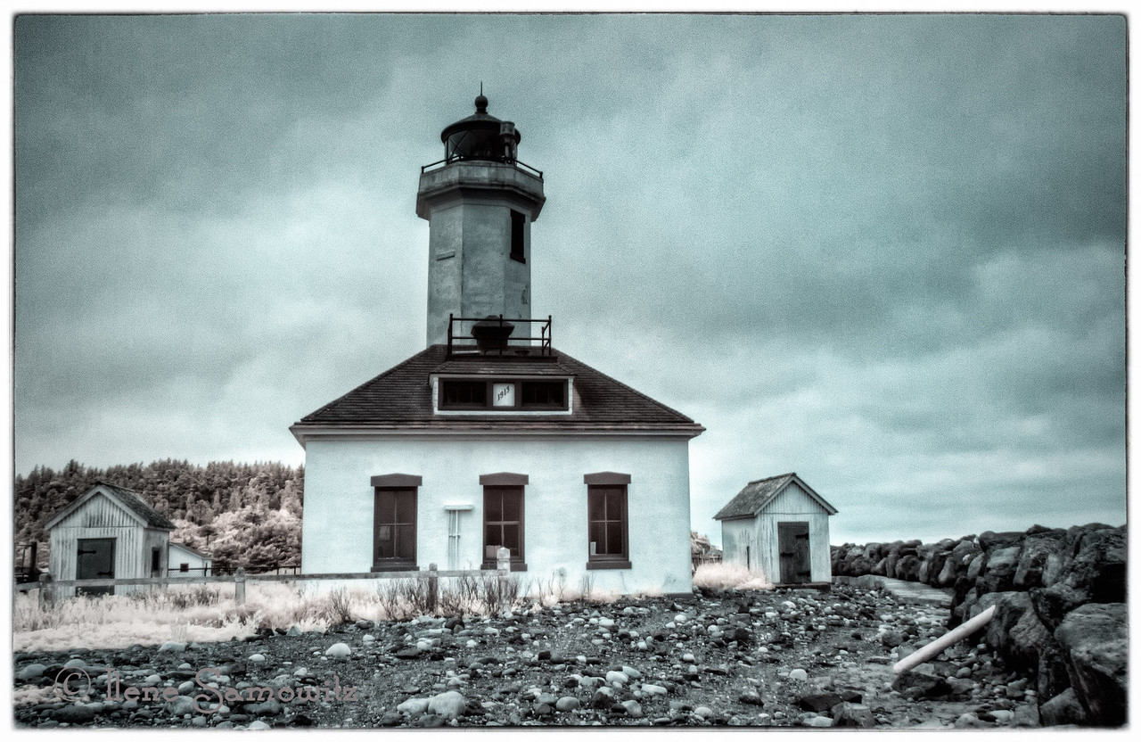 Another IR of Point Wilson, Port Townsend, WA