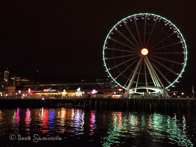 Seattle Big Wheel shot with iphone6 on tripod