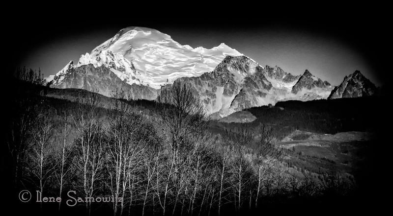 Mount Baker from the Samish Flats...Washington