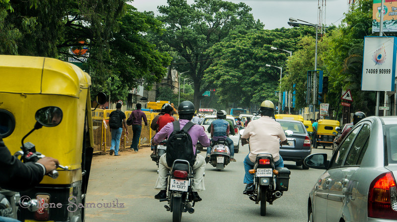 Driving in Bangalore