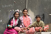 Young ones wanting me to take their pictures in Bangalore on Commercial Street.