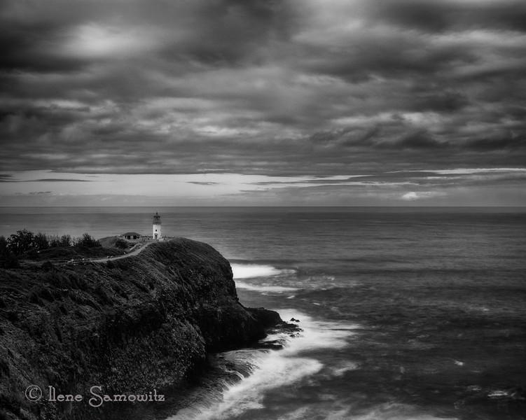 Kīlauea Lighthouse long  exposure.
