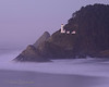 1-13-14 Twilight at Heceta Head Lighthouse, Oregon. 