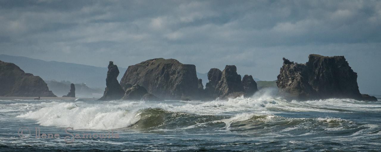 Bandon Seascape in Oregon