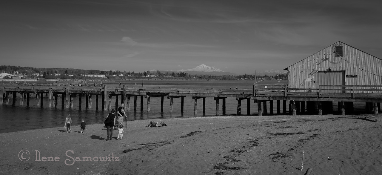 Lost in the past at Semiahmoo.