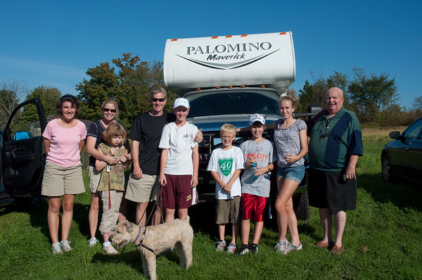 Davis Cowles and Family 10/09/11