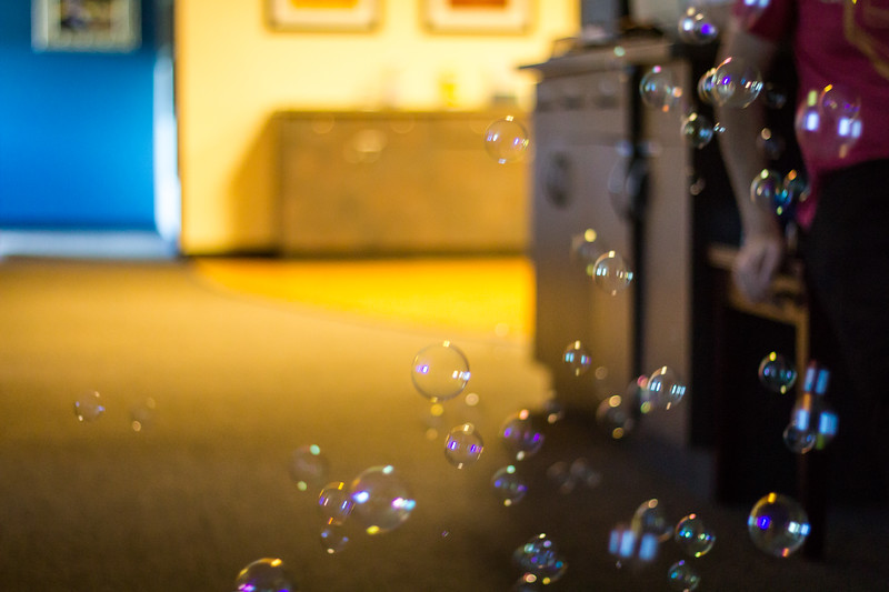 bubbles at work