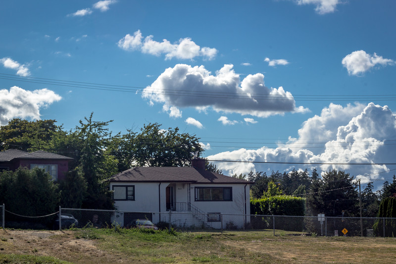 cloud on a wire