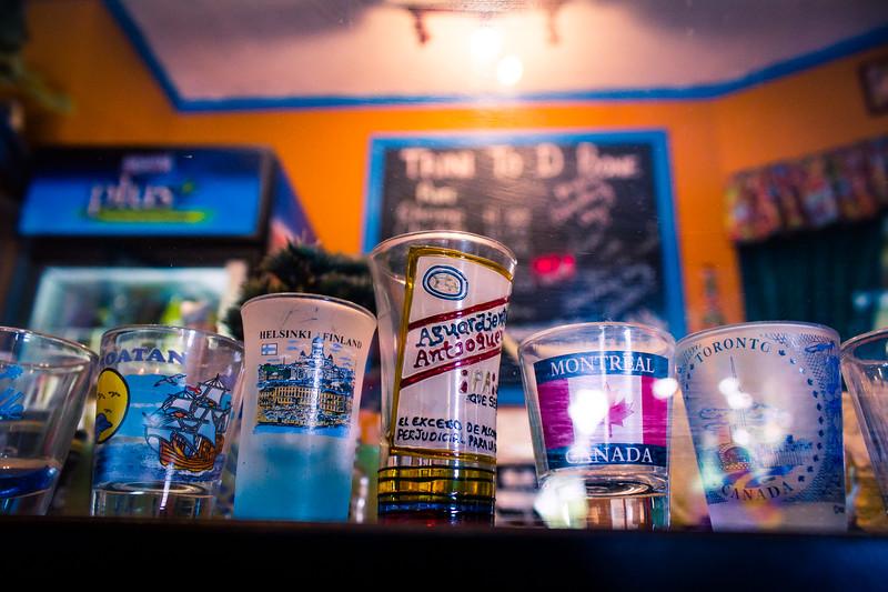trini shot glasses