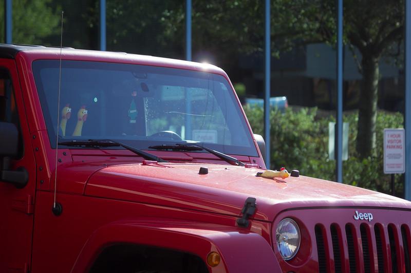 chicken a la jeep