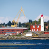 esquimalt harbour and fisgard lighthouse
