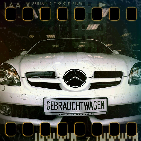 February 14th: Used car in a Berlin salesroom