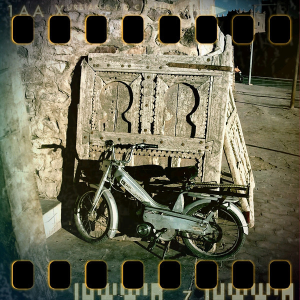 March 18th II: Motorcycle & door