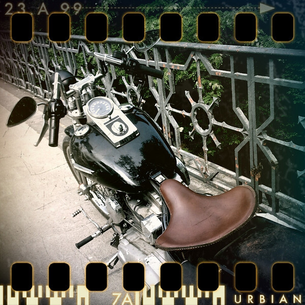 May 10th: Vintage Harley