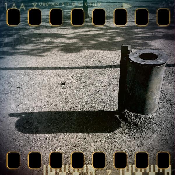 May 26th II: Dustbin with shadow