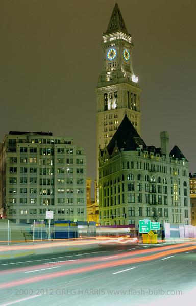 """Custom House Tower""<br /> <br /> Nikon D2H + 18-70mm f3.5-4.5G AFS Nikkor - 18sec @ f8 @ ASA200<br /> <br /> Boston, MA, USA, 04-20-2005"